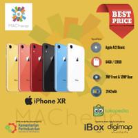 iPhone XR 64GB 128GB 256GB Garansi Resmi iBox NEW BNIB