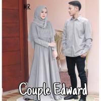 Baju Gamis Brukat Couple Lebaran Terbaru 2021 Mr Cp Edward Moscrepe L