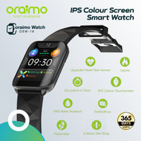 Oraimo Smart Watch Jam Tangan IPS Full Touch Screen Ultra Slim OSW-16