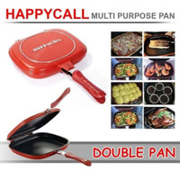 Happy Call Double Pan 32cm Jumbo ORIGINAL