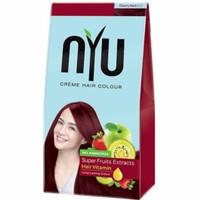 nyu creme hair colour natural bleach