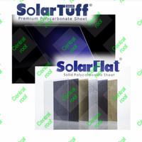 Solarflat tebal 1.2mm / SolarTuff Solid clear polycarbonate