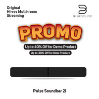 Bluesound Pulse Soundbar 2i Black (Ex Display)