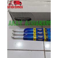lampu tanning T5 Aquazonic Actinic Blue biru 39 watt arowana louhan