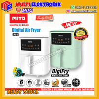 Digital Air Fryer Mito Original Garansi Resmi