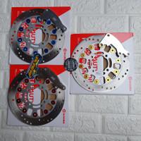 Piringan cakram disk brembo 220mm breket kaliper standar beat vario