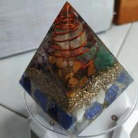 Orgonite Piramida 6 Cm Energy Balancing Healing Cleansing Chakra Power