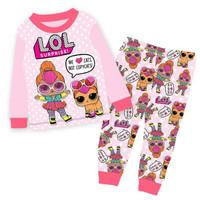 Baju Tidur LOL Anak Cewek ukuran 1-4tahun - 2y