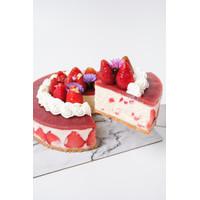 Ichigo Rare Cheesecake Birthday Cake