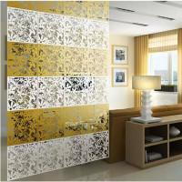 Dekorasi penyekat ruang vintage bahan PVC(1 set isi 4 1 warna)