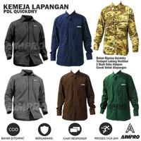 Kemeja Tactical - Baju Outdoor - Baju Trekking Hiking - Kemeja PDL