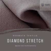 Bahan Kain Diamond Crepe (Stretch 4WAY) Original Premium High Quality