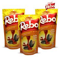 Rebo Kuaci Bundling 3 PCS - Varian Rasa Caramel 150 Gram
