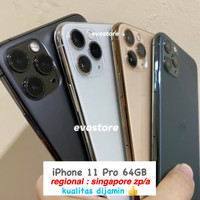 iPhone 11 Pro 64GB | Mulus - LikeNew - Original - Garansi Max 64