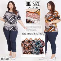Baju Wanita Baju Atasan Batik / Blouse Batik JUMBO / Baju Batik Wanita