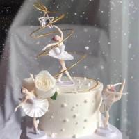 Topper Cake Ballet Girl / Dekorasi Kue Gadis Penari Balet