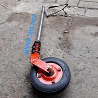 Roda Gerobak Dorong Gletrek Ban Belakang Roda Kastor Gerobak Bakso Mie