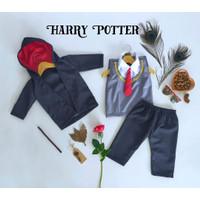 Baju Harry Potter Anak/Baju Harry Potter Bayi/Bajunik/Kostum Foto Bayi