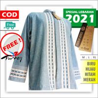 AL-HADJ Premium Series I Baju Koko Dewasa Lengan Panjang