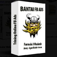 Bantai FB Ads - Formula 3 Masketir