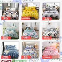 Bed Cover Badcover Katun Original Set 120x200 160x200 180x200 200x200