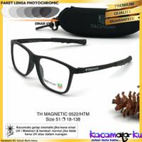 Kacamata Pria Minus Sport Magnetic 052 Photocromic Anti Radiasi