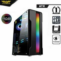 Armageddon TRON III RGB ATX Gaming Case