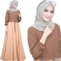 Anjani dress baju gamis pakaian wanita fashion muslim