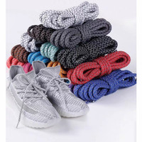Tali Sepatu Reflektif   3M Yeezy Reflective Round Shoelace   120CM