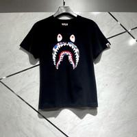 Kaos bape shark hk anniversary black