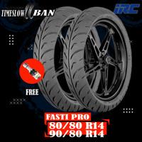 Paket Ban Matic RACING COMPOUND // IRC FASTI PRO 80/80 - 90/80 R14