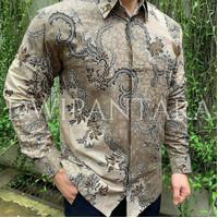 Batik Kurnia - Kemeja Batik Pria Katun Solo 40s Lapis Furing 491