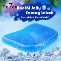 Bantal Jok Kursi Mobil / Bantal Jelly Sarang Lebah / Bantal Kesehatan