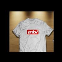 Kaos Baju Combed 30S Distro ANTV AN TV polos custom indonesia stasiun