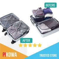 Plastik Vacum / travel vacuum bag 40x60 cm Kantong besar Baju bagasi