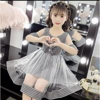 Denica Dress Kids Usia 6th-10th Baju Anak Perempuan Dress Anak Korea