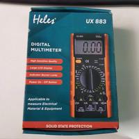 Multitester Heles Digital UX 883/Avometer Digital Heles UX 883