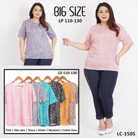 Baju atasan wanita JUMBO / Blouse Wanita BIG SIZE / Atasan Wanita