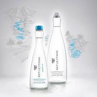 Aqua Reflections Botol Beling Kaca 380 ml