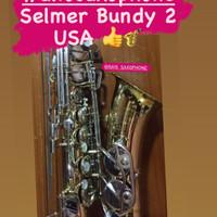 Alto Saxophone SELMER BUNDY 2 USA