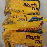 Ban dalam sepeda 16 x 1.75 -2.125 swallow Pentil besar av