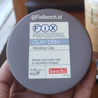 Fix Clay Doh Hair Wax Molding Import 80g ORIGINAL not Pomade