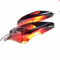 Accessories body samping yamaha new nmax 2020 cover nmax155 MHR smoke