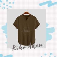 Baju Koko Lengan Pendek Hampers Kemeja Koko