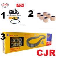 Honda Scoopy Beat FI Roller Van Belt Paket Roller V Belt motor ASPIRA