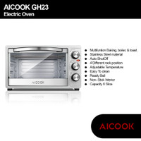 AICOOK Oven Toaster Oven 6 Slice Speed Baking