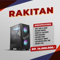 PC gaming I5 10400F I MSI B460 I GTX1660 SUPER I 2X 8GB I NVME 256GB