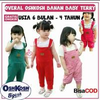 overall oshkost 0-5th/baju kodok anak/jumpsuit anak perempuan 4-5tahun
