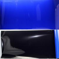 Background aquarium polos biru hitam wallpaper aquarium tinggi 40 cm