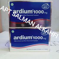 ardium 1000mg per box isi 3 strip